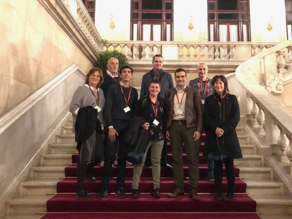 Visita a la Mesa d'Ensenyament del Parlament de Catalunya